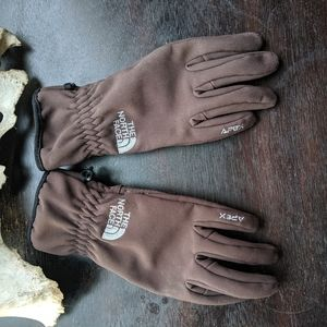 SALE TODAY ONLY! Apex soft shell gloves in brown